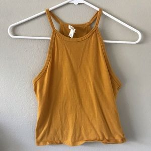 strap crop too yellow